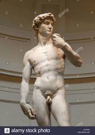 the famous original statue of david from michelangelo 1501 1504