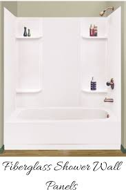 Fiberglass Or Acrylic Bathtub How To Compare Grout Free Shower And Tub Wall Panels
