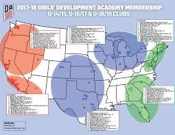 Bradenton Florida Map by Girls U0027 Da United Futbol Academy