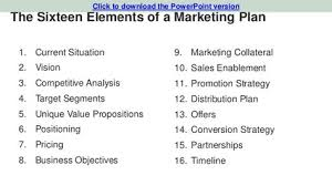 marketing plan template for tech startups marketing pinterest