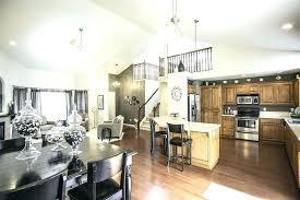 Pendant Lights For Living Room Modern Living Room Pendant Light Limestone Floors High Ceiling