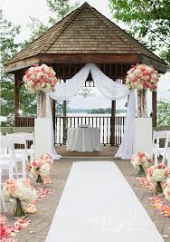 How To Decorate A Backyard Wedding Best 25 Wedding Gazebo Ideas On Pinterest Gazebo Decorations