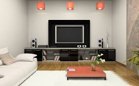 Living Room Design Television Living Room 3d Modern Living Room With Tv And Air Conditioning