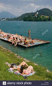 Slovenia Lake Slovenia Lake Bled Activity Stock Photos U0026 Slovenia Lake Bled
