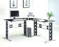 Desk L Shaped Gorgeous L Shaped Black Computer Desk Desk L Shaped Home Office L