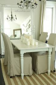 shabby chic farmhouse table white farmhouse table cottage dining room in the fun lane