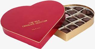 heart chocolate box heart shaped chocolate box box food dessert png image and