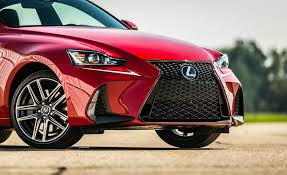 2017 lexus is200t new car 2017 lexus is 200t f sport red exterior view front bumper and