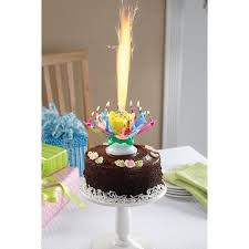 musical spinning birthday candle at signals hp9642