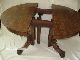 elegant antique round oak pedestal dining table delightful i