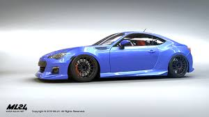 subaru brz custom body kit ml24 automotive design prototyping and body kits