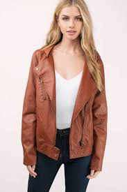 jacket moto trendy camel jacket moto jacket hooded jacket faux leather