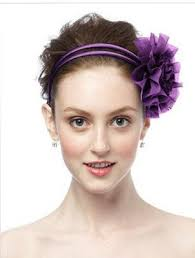 hair chiffon african violet chiffon flower pin headpiece 16 00 bridesmaid