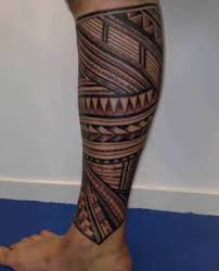 african tribal pattern tattoo for leg tattooshunter com