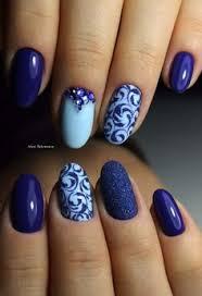 30 dark blue nail art designs dark blue nails white nail polish