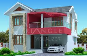 kerala house plan latest 3 bedroom exterior house design