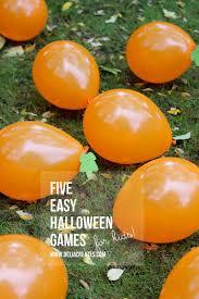 2nd grade halloween party ideas five easy halloween games for kids delia creates delia