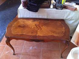 antique wood end tables beautiful vintage wood inlay coffee table collectors weekly