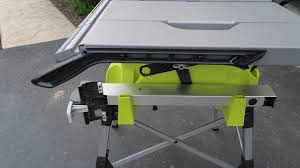 Ryobi 10 Inch Portable Table Saw Ryobi Table Saw Review Tools In Action Power Tool Reviews