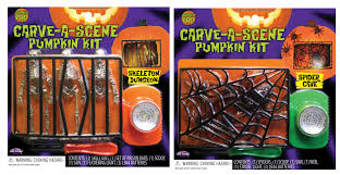 Pumpkin Carving Kits Carve A Scene Pumpkin Carving Kit Assortment Halloween