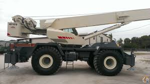 2001 terex rt175 75 ton low hr excellent cond crane for on