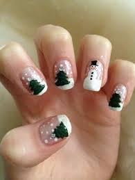 imagenes de uñas pintadas pequeñas uñas navideñas 170 diseños uñas decoradas nail art