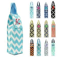 wine bottle gift bags personalized chevron wine bottle gift bags giftshappenhere