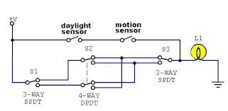 4 way light with motion detector electronics forum circuits