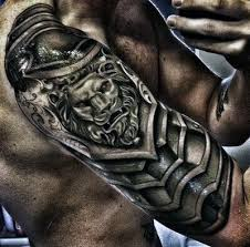 silver chainmail mens armor tattoo styles tattoos i like