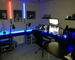 desk stunning gaming computer desks office workspace home gaming