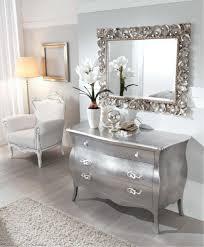 comodini foglia argento alfieri foglia argento ccamera da letto elegante