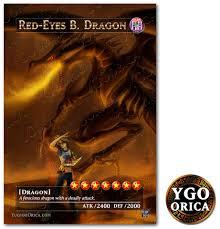 1x red eyes black dragon yugioh anime non holo orica original