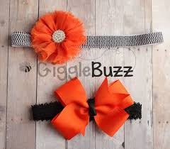 halloween headbands black and orange