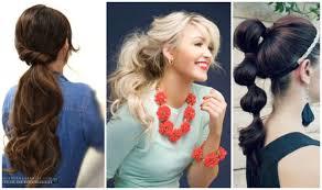 ponytail hairstyles for 1950s inspired ponytails vitalmag