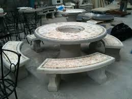cement table and chairs concrete outdoor table and chairs view larger concrete outdoor table