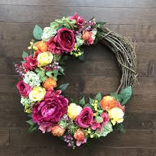spring door wreaths spring wreath spring wreaths for front door wreaths for front