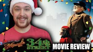 Miracle On 34th Street Miracle On 34th Street 1994 Christmas Movie Review Youtube