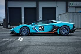 lamborghini custom lamborghini aventador caught riding on custom futuristic wheels