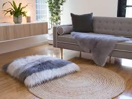 Faux Fur Sheepskin Rug Mocka Faux Sheepskin Rug Living Room Decor