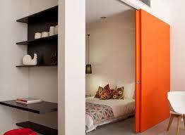 porte coulissante pour chambre porte coulissante 5 idées pour l adopter décoration