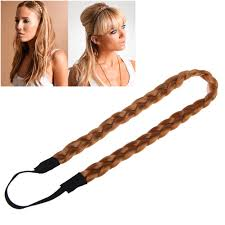 braid hairband stylish hair band headband plait elastic bohemia braid