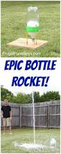 this epic bottle rocket flew higher than our two story house