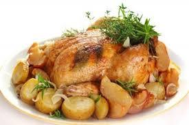 cuisiner poulet au four poulet au four et pommes de terre recette légumes supertoinette