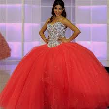 quinceanera dresses coral neon coral quinceanera dress naf dresses