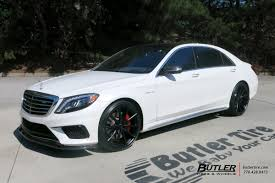 Mercedes S Class With 22in Lexani M108 Wheels Butler Tire Luxury