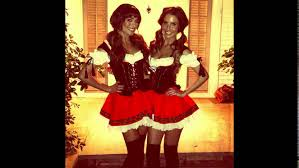 matching women halloween costumes best friend matching halloween costumes youtube