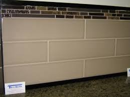 glazed subway tile backsplash with glass accents google search