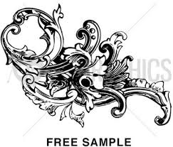 baroque ornament free vector 9 916 free vector for