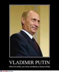 Vladimir Putin Meme - looks like putin is having turkey for thanksgiving eyes the o