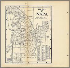 california map napa city of napa california david rumsey historical map collection
